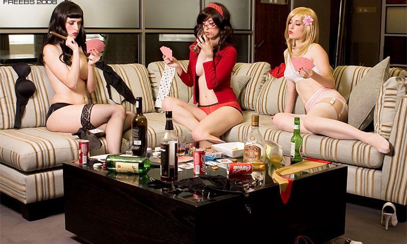 Эротический покер