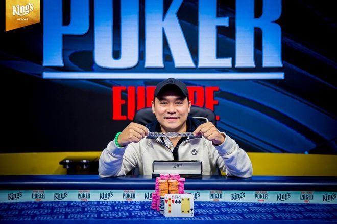 Ханх Тран выиграл второй браслет за год в турнире €550 PLO